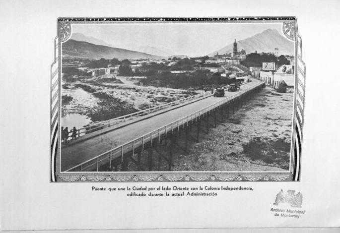 Inundación 1938 - Puente construido en 1934